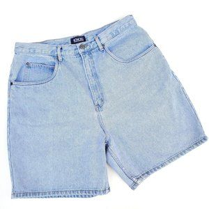 Vintage High Rise Mom Denim Jean Shorts 16